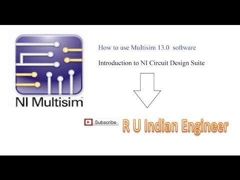 How To Use MultiSim 13.0 Software (Basic Clipper Circuit) | by R U Indian Engineer