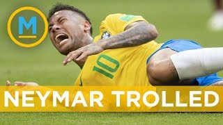 Brazil's Neymar getting trolled online for over-acting against Mexico   Your Morning