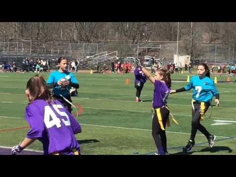 9/11 Youth Flag Football South League Sunday Action
