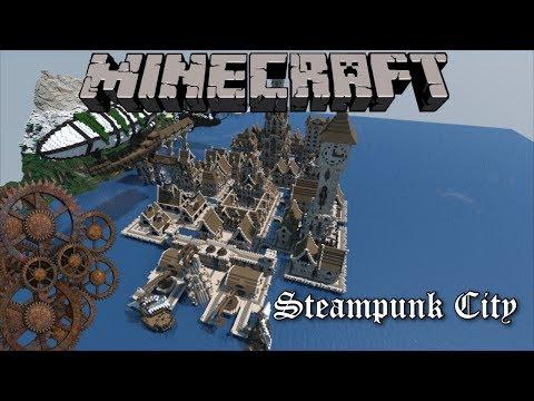 EPIC Minecraft Cinematic   Steampunk City