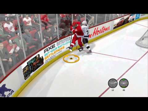 Computer Aggressive Goalie  (NHL 14 Clips)
