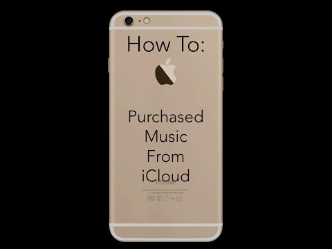 How To Download Purchased Music From iCloud