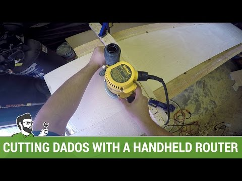 A Guide for Cutting Dados with a Hand Held Router