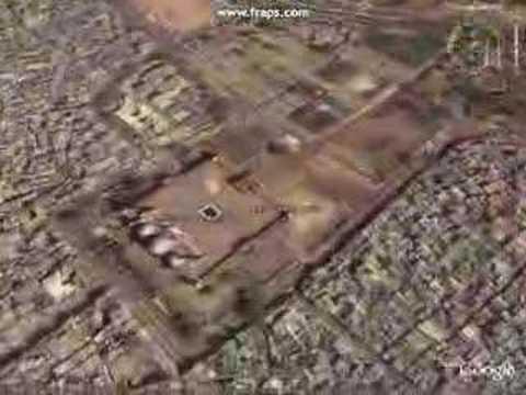 IndiaRail: Google Earth Delhi FlyOver