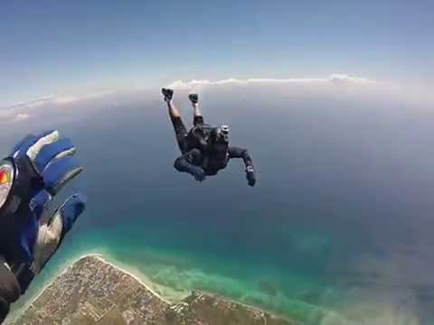 Skydiving at Bantayan Island