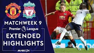 Manchester United v. Liverpool | PREMIER LEAGUE HIGHLIGHTS | 10/20/19 | NBC Sports