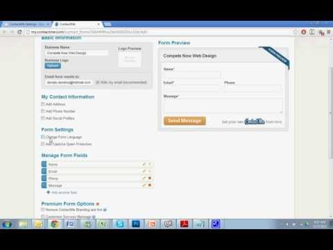 Adding a Lightbox Contact Form to Your Website with ContactMe