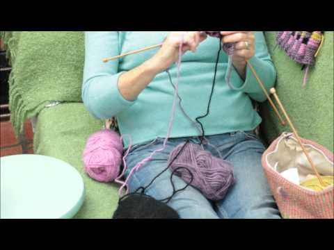 KNIT - THE MAKING OF OUR TEA COSY