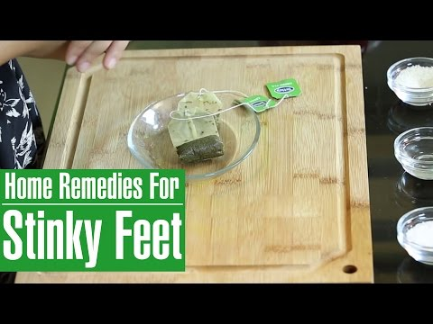 How To Get Rid Of Foot Odor I Natural  Home Cures For Stinky & Smelly Feet