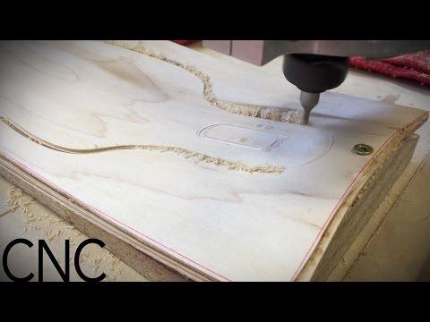 CNC Longboard Project