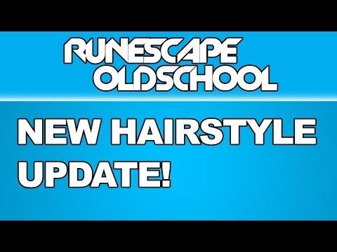 HAIRSTYLE UPDATE! - Oldschool Runescape