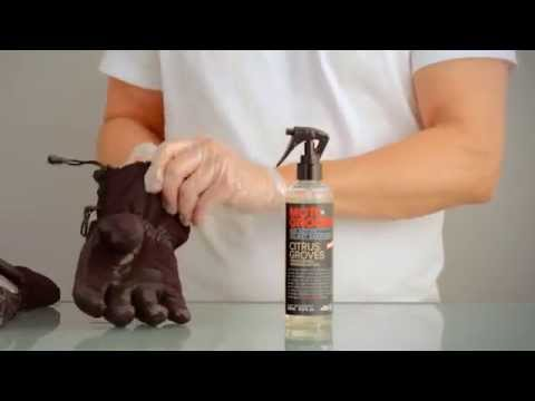 HOW TO CLEAN YOUR MOTORCYCLE GLOVES SD