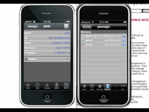 HTML5 Sencha App vs. native iPhone App side by side (HD)