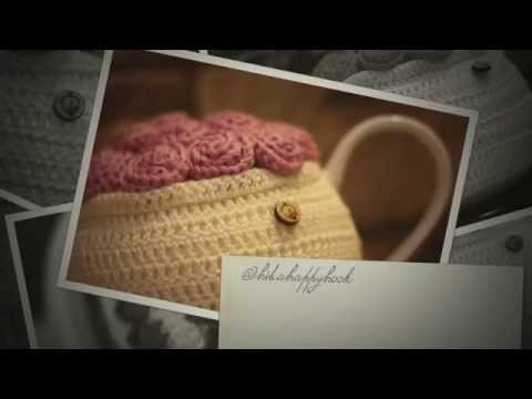 crochet Teapot Cozy Cosy, Crochet Flower Teapot Cosy