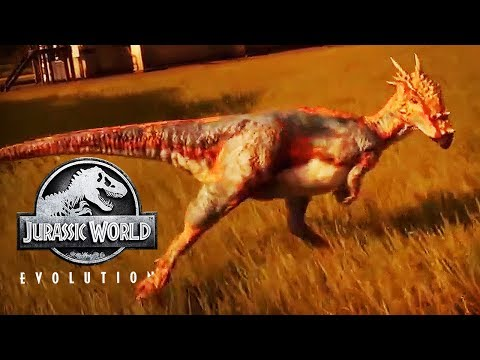 DRACOREX LOOKS AWESOME! TINY BIT OF NEW GAMEPLAY | Jurassic World: Evolution Gameplay