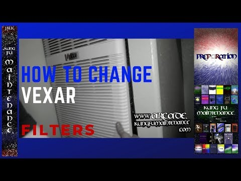 How To Replace York Vexar Air Filters Heater Air Condtioner Fan Mobile Home Air Handler HVAC Video