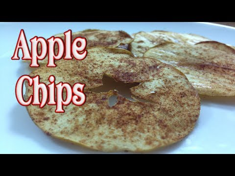 Apple Chips ~ Easy and Healthy Snack