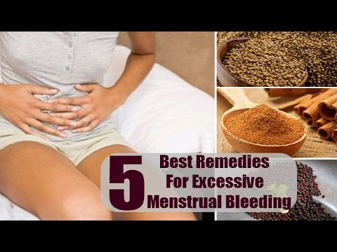 5 Home Remedies for Heavy Menstrual Bleeding.
