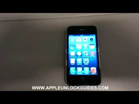 How to unlock an Verizon locked iPhone 3GS - Easy Unlocking Method