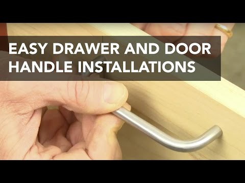 Jig for Easier Drawer and Door Pull Installation