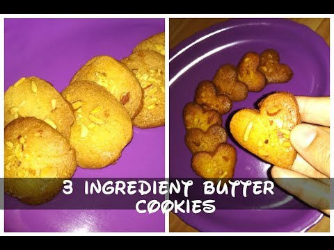 Crispy Thin Butter Cookies 2 Ways/No Baking Soda Or Powder/Really Melt In Your Mouth Butter Cookies
