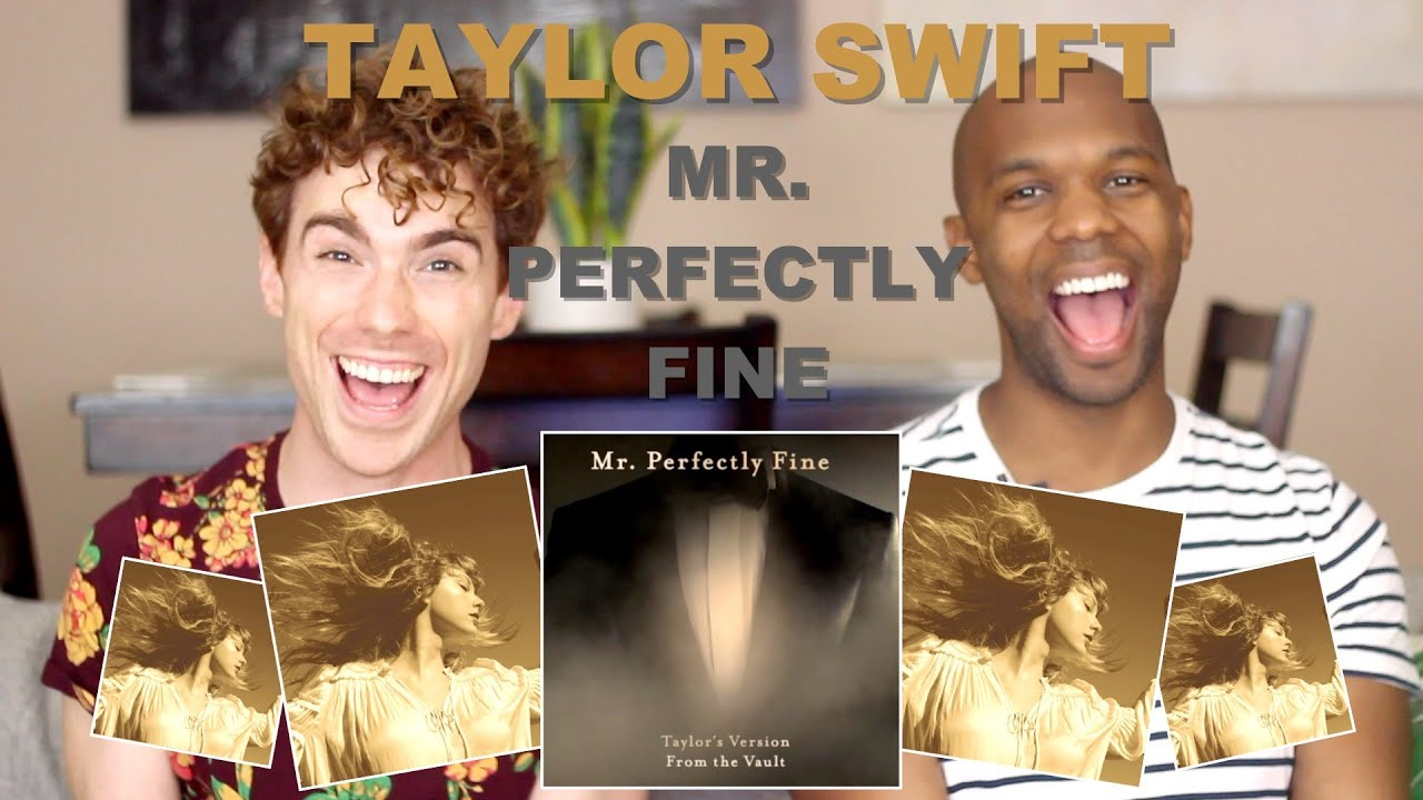 Taylor Swift - Mr. Perfectly Fine - Reaction/Review!