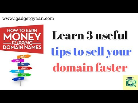 Learn How to sell & Buy domain faster and make money. [Hindi]
