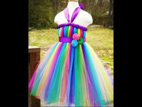 How To Wrap Ribbon Around a Tutu Dress