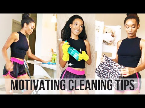 CLEANING TIPS // SAHM // HOW TO GET MOTIVATED TO CLEAN MORE OFTEN 2017