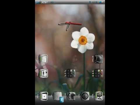 Full screen slideshow iPhone Springboard, Slideshow Lock screen. The Amazing iPhone.