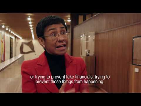Is journalism in crisis? Interview with Rappler's Executive Editor, Maria Ressa