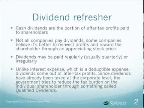 Qualified Dividends Overview