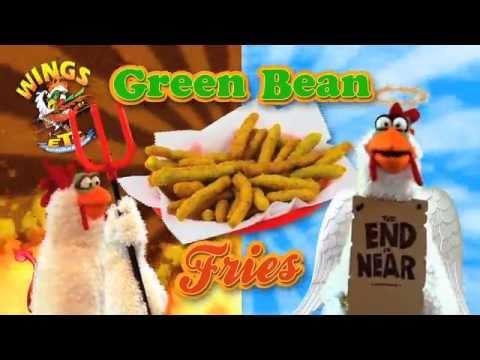 Wings Etc. Green Bean Fries!