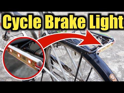 How To Make Cycle Brake Light