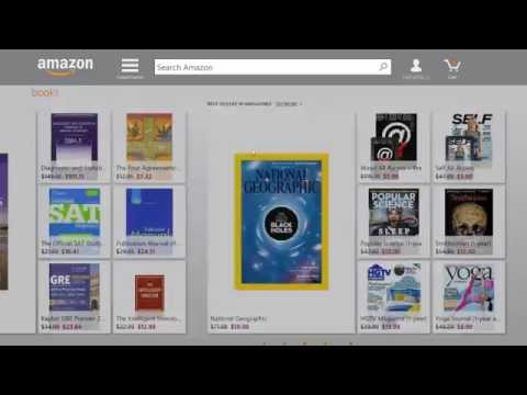 Amazon app for Windows 8 [overview]