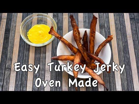 Easy & Cheap Homemade Turkey Jerky Recipe - No Dehydrator Needed