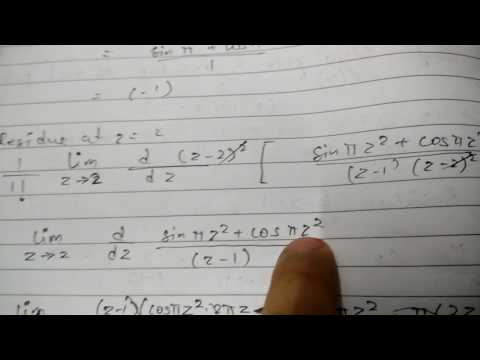 Residue and Cauchy theorem
