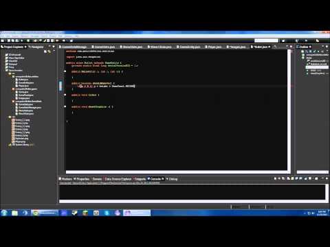 Java Programming Timelapse - Space Invaders
