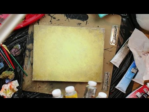 How to Paint a Rustic Light Brown Background