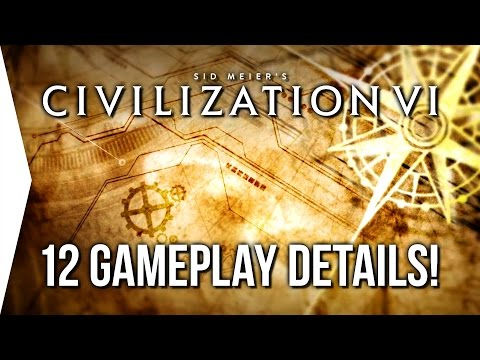 Civilization VI ► 12 Gameplay Details You Might Not Know About!