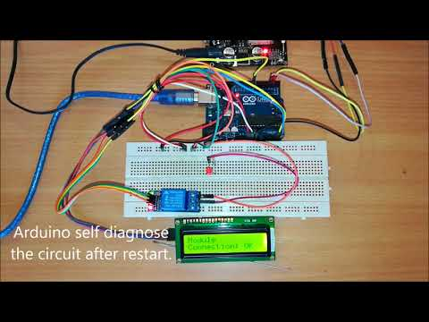 Control Motor pumps with Cellphone using this GSM Arduino Circuit