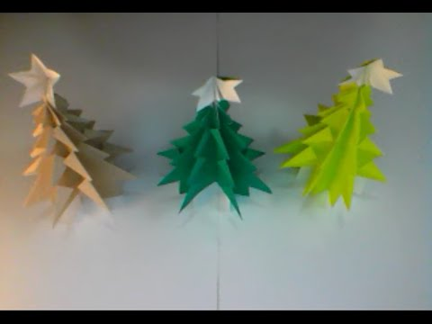 Japanese Origami Christmas Tree