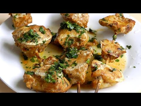 Chicken Kebabs How to Make simple food recipe BBQ