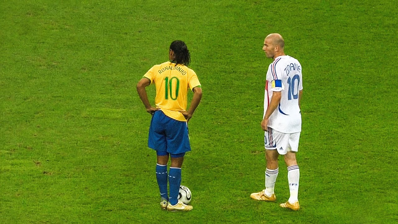 The day Zinedine Zidane & Ronaldinho met each other