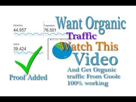 Get Organic Traffic to your Blog and website In hindi 2018
