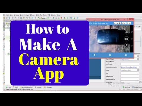 how to make camera app android studio | Simple camera app for beginners