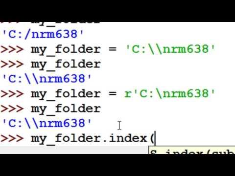 Python String variables