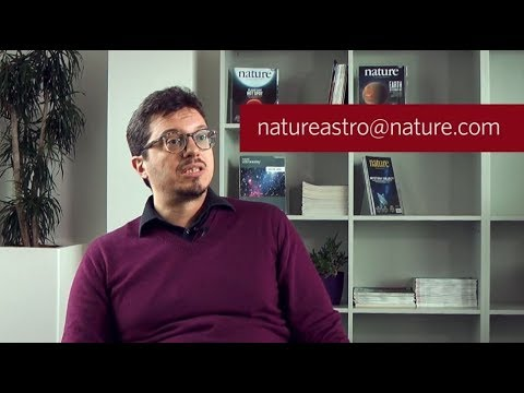 Nature Astronomy – Submitting a Paper