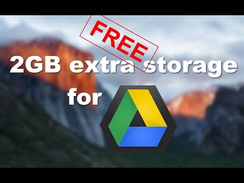 Extra 2GB of free storage for your Google Drive!