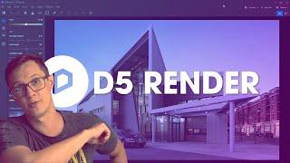 D5 Render - É rápido e renderiza cenas internas com qualidade top!